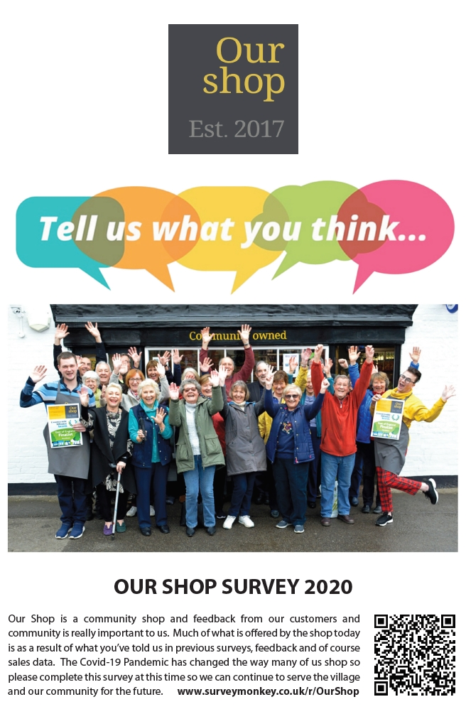 Our Shop Survey 2020