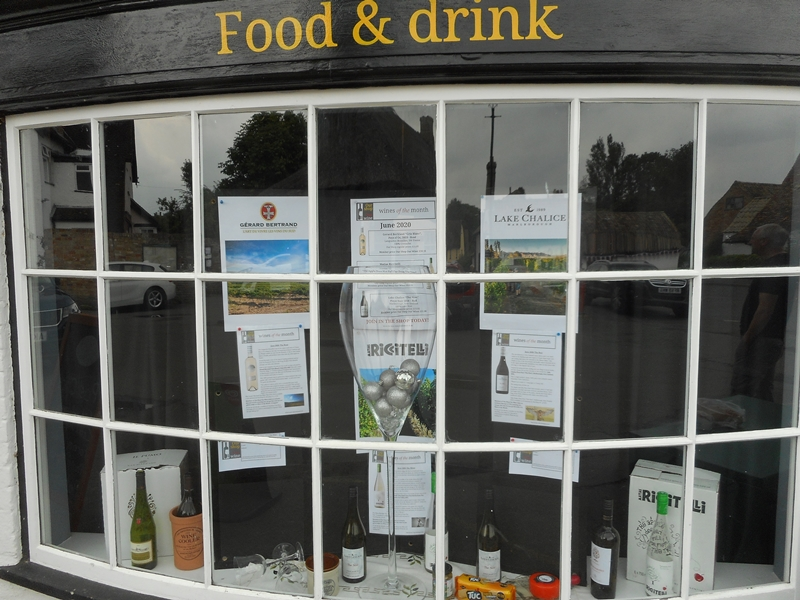 Wine Club Window